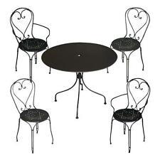 Sedie E Tavoli In Ferro Per Giardino.Tavoli Impilabili In Vendita Arredamento Da Esterno Ebay