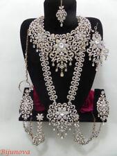 Crystal Women Asian Jewellery Sets