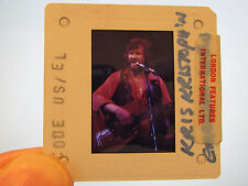Original Press Promo Slide Negative - Kris Kristofferson - 1980s/1990's