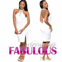 NEW SEXY DRESS FORMAL OCCASION EVENING GLAM FASHION Size S M L 4 6 8 10 12