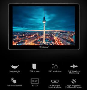 "Bestview R7S 3D Touch Screen Monitor 4K 7"" 3G-SDI Full HD HDMI SDI Video Monitor"