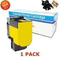 Yellow Toner For Lexmark CX510de CX410de 801HY 800H4 80C1HY0 80C0H40 3K Pages