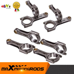 ⭐⭐⭐⭐⭐ for BMW M60 M60B40 4.0L M62 4.4L Conrods Con Rod Connecting Rods 143mm