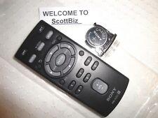 Sony Car Remote RMX201 CDXGT360MP CDXGT270MP CDXGT260MP CDXM20 New W/Battery