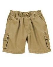 Nwt Gymboree Plaids and Alligators Cargo Khaki Shorts 18 24