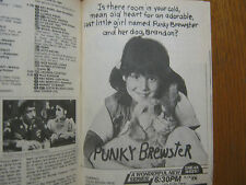 1984 TV Guide(PUNKY  BREWSTER/E/R/MIAMI VICE/HIGHWAY  TO HEAVEN/THE COSBY  SHOW)