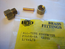 Brass fitting connector 1/4 X 1/8