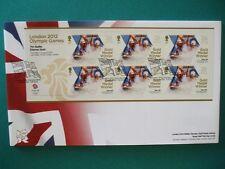 2012 LONDON 2012 OLYMPICS GOLD MEDAL WINNER FDC : TEAM GB MENS CANOE SLALOM