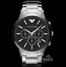 Emporio Armani Herren Uhr AR2460 Chronograph Klassik NEU OVP