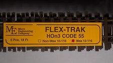Micro- Engineering #12-116 HOn3 Flex Track Code 55 WEATHERED BIGDISCOUNTTRAINS
