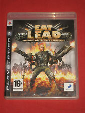 EAT LEAD - The Return of Matt Hazard - Le Jeu PS3/PlayStation Complet