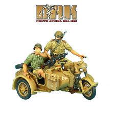 DAK015 DAK German R75 Motorcycle Combo - 15th Pz. Div. Recon by First Legion