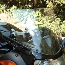 """BMW R1100S  1997-2005 12"""" TALL, CLEAR  REPLACEMENT WINDSHIELD"""