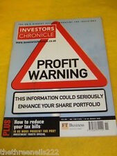 INVESTORS CHRONICLE - REDUCE YOUR TAX BILLS - MARCH 16 2001