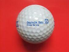 Pelota de golf con logo-deutsche bank-Private Banking-golf logotipo pelota logotipo pelotas