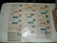 Vintage Lot Of 19 UN United Nations 1950s Covers 3 are unused Pre Stamped