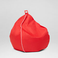 Chillizone Outdoor Bean Bag Red/White Adult Size 200 ltr