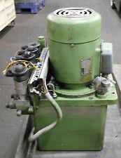 Hawe Hydraulic Unit & Power Supply, # P43/B6A90S/1, Used, WARRANTY