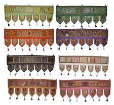 Cotton Door Hanging Ethnic Decor Embroidered Window Valance 20Pcs Lot New