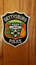 Gettysburg Pennsylvania Police patch