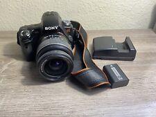 Sony Alpha SLT-A33 14.2MP Digital SLR Camera - Black (Kit w/ DT SAM 18-55mm...