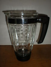Oster Round Blender Cup 4 Cups 32 ozs Vintage Glass Pitcher Replacement part