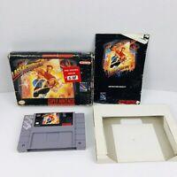 Last Action Hero Super Nintendo Entertainment System SNES Cartridge Box Manual