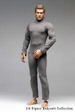 mc0399 Grey Zipper Body Suit for 1/6 Action Figure