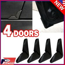Black Universal Auto Car Side Door Edge Corner Paint Scratch Guard Protector P1