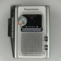 Vintage Panasonic MINI Cassette Recorder RQ-L31 Battery Operated NO Tapes Retro