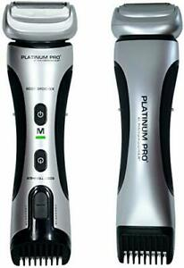 PLATINUM PRO by MANGROOMER - New Body Groomer Ball Groomer and Body Trimmer w...