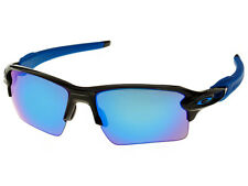 Oakley Flak 2.0 XL Sunglasses OO9188-23 Polished Black/Sapphire Iridium