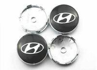4x 60mm Hyundai Autoräder Nabendeckel Radmitte Kappen Für Hyundai Emblem Logo