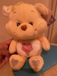 """Treat Heart Pig 8"""" RARE beanie Plush Care Bear Cousins"""