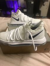low priced a749c f8d1d Nike Zoom KD Durant 10 X Basketball Shoes PE White Size 11