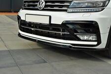 FRONT SPLITTER FOR VW TIGUAN MK2 R-LINE (2015-UP)