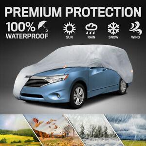 Van & SUV Car Cover for Nissan Motor Trend Waterproof Dirt Scratch Resistant