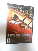 Lethal Skies SONY PLAYSTATION 2 PS2 Game Tested + Working COMPLETE