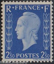 FRANCE stamps 1945 Marianne Dulac FR.2,50 not issued Uni.701C  LH -F439