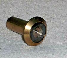 Tru-Bolt Security Door Eye Spy Peephole Viewer Glass Lens Home Office 200° Brass