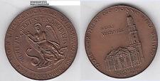 Hamburg Michaeliskirche Kirche Church AE-Medaille 1962 ca. 41 mm ca. 36,04 g