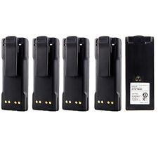 5x ( NTN7144 ) Battery For MOTOROLA HT1000 MTS2000 MT2000 HT6000 JT1000 Radio