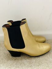 Missoni Gold Metalic Ankle Boots Sz 38