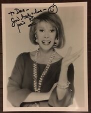 Joan Rivers autographed 8x10 photo Awesome Pose signed To Dave