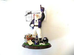 Baltimore Raven Santa Claus danbury mint store closeout new original football