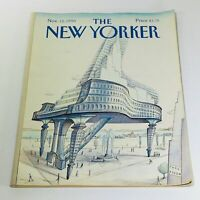 The New Yorker: November 12 1990 - Full Magazine/Theme Cover Paul Degen