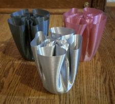 "3D Printed ""Cloth"" Vase"
