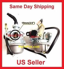 Carburetor PZ19 Carb 50 70 90cc 100 110cc 125cc ATV sunl NST Chinese Cable choke