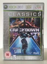 Crackdown Xbox 360 Video Game With Manual And Map Included- FREE POST
