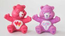 Care Bears Love a Lot & Share Bear Miniature Figures Set of 2